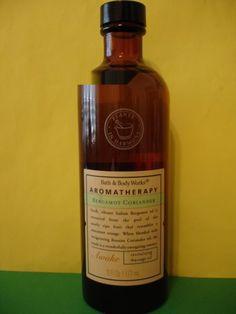 Bath & Body Works Aromatherapy Bergamot Coriander Massage Oil
