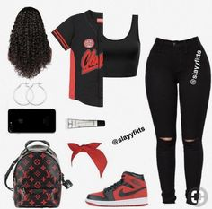 Tomboy Outfits, Teenager Outfits, Swag Outfits For Girls, Cute Teen Outfits, Cute Outfits For School, Teenage Girl Outfits, Cute Comfy Outfits, Teen Fashion Outfits, Dope Outfits
