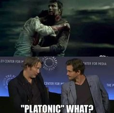 Hahaha No the pic says something else but not PLATONIC..