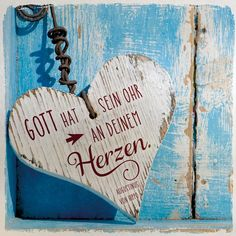 Metalltafel Gott hat sein Ohr an deinem Herzen | Bolanz Verlag e.K.