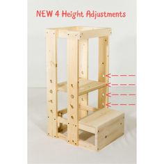 Welcome to the TeddyGrams Tot Tower page. Our goal is for your child to get to counter height safely using our grow-with-your-toddler Tot Tower Step Stool.