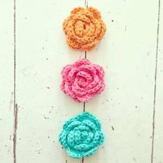 Crochet Rose - Tutorial ❥ 4U hilariafina  http://www.pinterest.com/hilariafina/