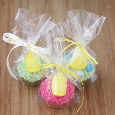 Easter Cupcake Packaging.  So cute!