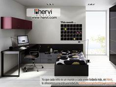 en #Muebles  Hervi, te ofrecemos una grán variedad de #habitaciones infantiles y juveniles.
