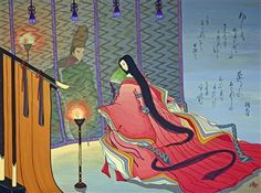 These paintings by Japanese artist Agameishi illustrating The Tale of Genji are like nothing you've ever seen before. Heian Era, Heian Period, Modern Novel, Nature Sketch, Artist Portfolio, Japanese Embroidery, Japanese Artists, Asian Art, Kyoto