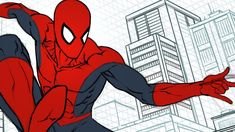 Tips on Perspective Drawing with the Procreate App Comic Art, Comic Books, Comic Drawing, Perspective Drawing, Cool Backgrounds, Art Studies, Spiderman, Tutorials, App