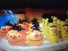 Afbeeldingsresultaat voor traktatie egel fruit