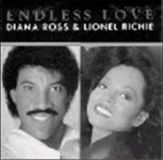 in 1981 - Lionel Richie and Diana Ross hit number one on the pop music charts with their duet, Endless Love. It was a huge success for the two singers. Lionel Richie, Diana Ross, 80s Songs, 80s Music, Sound Of Music, Kinds Of Music, Inexpensive Wedding Venues, Endless Love, Wedding Songs