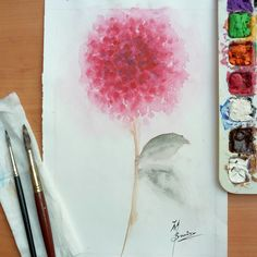 Abstract flower : Floral art