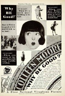 Why Be Good? (1929) Poster