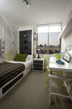 Small decorated room: 90 modern design ideas to inspire - Home Fashion Trend Interior Design Living Room, Small Room Bedroom, Bedroom Design, Bedroom Layouts, Modern Room, Home Decor, Home Office Bedroom, Room Design, Apartment Interior