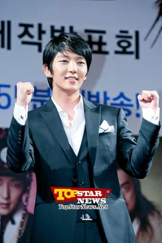 Lee Jun Gi promoting the drama show…Arang Satto Production report conference [KDRAMA]