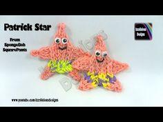 Rainbow Loom Patrick Star (from SpongeBob SquarePants) Action Figure/Charm - YouTube