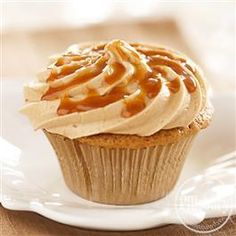 Caramel Macchiato Cupcakes from Pillsbury® Baking