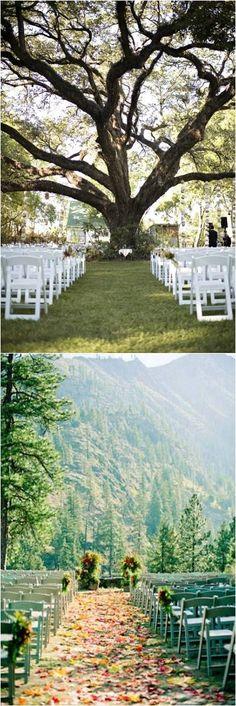 Rustic Weddings » 20+ Genius Outdoor Wedding Ideas » Outdoor wedding venues