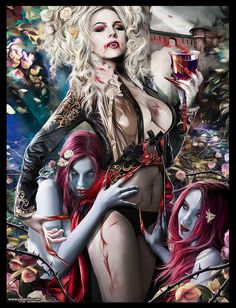 QUEEN OF VAMPIRE by *Yayashin on deviantART