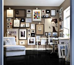 Getting the Hang of It: Wall Collage 101 « HEINCKER DESIGN *blogspot