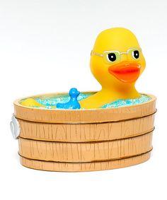Loving this Duckuzzi Rubba Duck on #zulily! #zulilyfinds