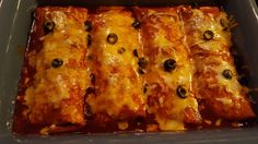 Julia's Simply Southern: Oven Baked Burrito 'Chiladas