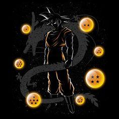 Check out this awesome 'Balls+of+dragon' design on Dragon Ball Gt, Anime Echii, Anime Art, Mickey Mouse Wallpaper, Animes Wallpapers, Pokemon, Fantasy Art, Drawings, Artwork