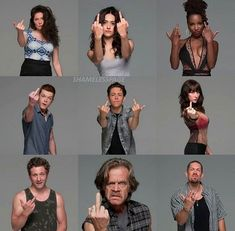 Shameless Tv Series, Shameless Memes, Carl Shameless, Shameless Characters, Shameless Season, Shanola Hampton, Ian And Mickey, Carl Gallagher, Brooklyn 9 9