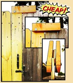 gate latch DIY - Google Search