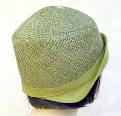 Vintage Flapper 1920s Reproduction Cloche Hat by GailsHats on Etsy