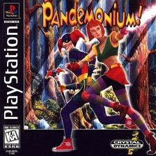 Pandemonium ! Sony PlayStation cover artwork