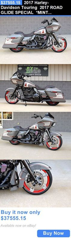 Motorcycles: 2017 Harley-Davidson Touring 2017 Road Glide Special *Mint* $20K In Xtras! M8! Race Edition! 1 Of A Kind!! BUY IT NOW ONLY: $37555.15 #harleydavidsonroadking