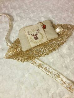 New handmade coin purse! #deer #gold #xmas #merrychristmas #christmasinspiration #boutiquepapaya