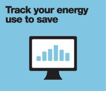 Track your energy use to save