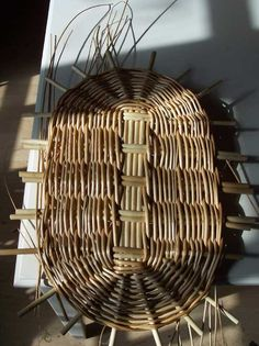 Oval bottom - basket