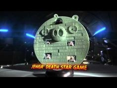 Get ready for an intergalactic battle with ANGRY BIRDS Star Wars when you and a friend take on DARTH VADER and his porky pals!     Angry Birds Star Wars Death Star Jenga is available here: http://hasb.ro/RLkdqj