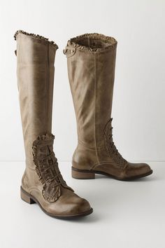 grey loose rein boots • anthropologie. I have wanted these for two years and must find a pair!