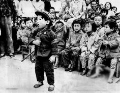 kids Mao'ized and militarized in Cultural Revolution China