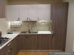 Cucina Milly moderna angolare - DIOTTI A&F Arredamenti