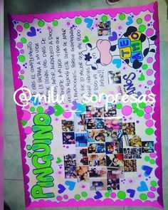 Love Gifts, Diy Gifts, Ideas Aniversario, Ideas Para Fiestas, Diy And Crafts, Birthdays, Collage, Kawaii, Valentines