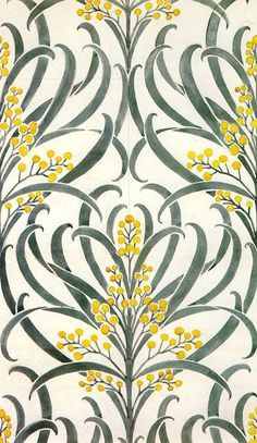 "print-spiration: ""Callum wallpaper Voysey 1896 """