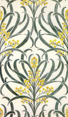 "print-spiration: ""Callum wallpaper Voysey 1896 """