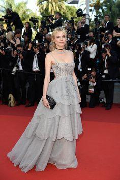 Diane Kruger in Dior   2017 Cannes Film Festival