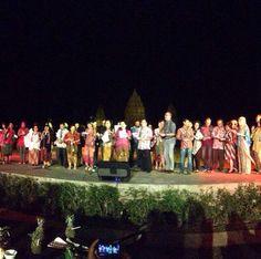 Presentation by HDII as representative of Indonesia #apsda2014 #farewellparty #prambanantemple #mysticaldesign #livefromapsda2014