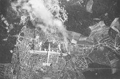 Karlsruhe during WWII.