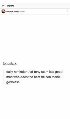 Good day to love Tony Stark Marvel Films, Marvel Memes, Marvel Dc Comics, What Is Like, My Love, I Am Batman, Doctor Strange, Robert Downey Jr, Tony Stark