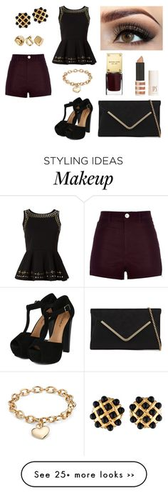 """Untitled #827"" by coolale on Polyvore featuring River Island, Izabel London, ALDO, Chanel, Topshop, Michael Kors and Blue Nile"