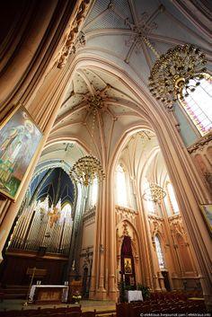 Kyiv, the St. Nicholas Roman Catholic Cathedral