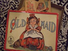 vintage old maid cards by dreamsintertwined, via Flickr