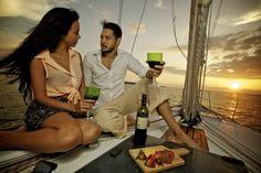 Aniversario, Pedida de mano, o cena romantica a bordo del velero Anna Sofia, en la bahía de Cartagena de Indias - Colombia :)