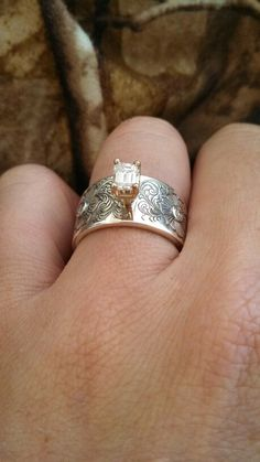 Western Rustic amazing chic ring!,!