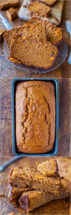 Cinnamon and Spice Sweet Potato Bread - a great way to eat veggies for dessert