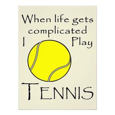 Tennis quote